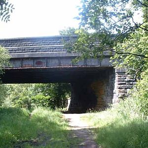 Barrowford Road bridge from south May 2005