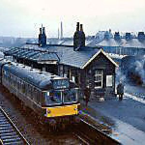 Earby station 26 03 1965