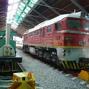 Havana Railway Museum - little and large!