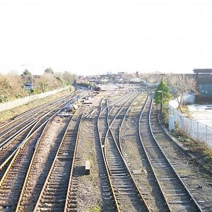 Totton sidings early Jan 2010