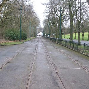 Heaton Park Tramway from Depot To Middleton Road