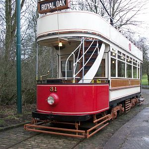 Heaton Park Tramway, Blackpool 31 on loan from Beamish