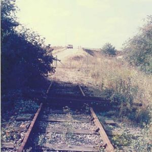 End of the Line just before M25 1986