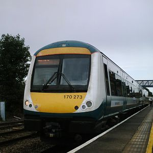 170273 - On a Cambridge to Norwich service back in 2009