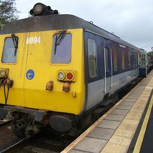#15: Leaving the Best 'til Last, Part 2: NIR Thumper 8094 at Whitehead, awaiting its return journey to Belfast.