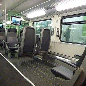 Vienna City Airport Train interior