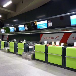 Vienna City Airport Train in-town check-in