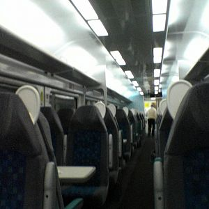 New WAG train interior #1