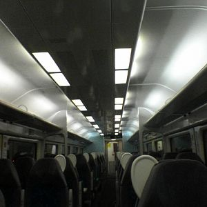 New WAG train interior #2