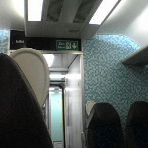 New WAG train interior #3