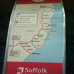 East Suffolk Line Table