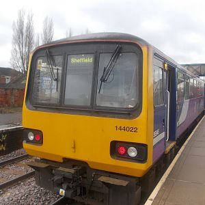 144022 at Castleford. I took a picture here rather than at Leeds because me and Paul were cutting it a little fine for making it on at Leeds. This was