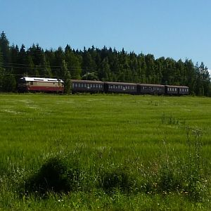 Finland Museum Train in the summer of 2012