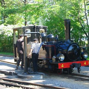 Mariefred Sweden narrow gauge