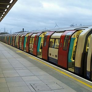 Jubilee Line at West Ham