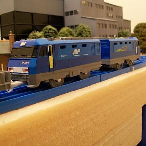 "EH-200 ""Blue Thunder"" electric locomotive, Japan.