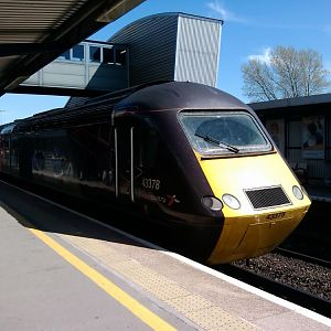 Cross Country Class 43 as HST at Bristol Parkway, 06.05.2013