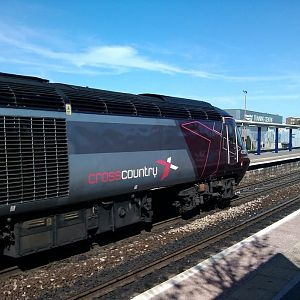 Cross Country Class 43 at Bristol Parkway, 06.05.2013