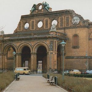 Anhalter station Berlin 93 - this station ended up in the Soviet zone in 1945 and was never re-opened. A look at Google Earth will be most interesting