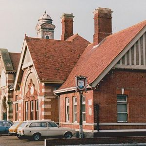 Bexhill West - the terminus of that branch line - just visible from Coastway East if you know where to look! Fantastic building.