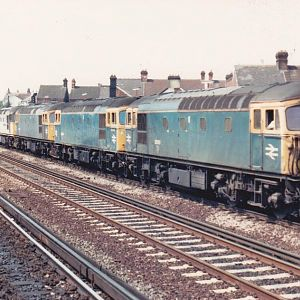 Crompton power Tonbridge - taken back in the early 90s I think