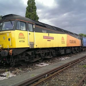 47739 stabled at Top yard