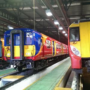 class 455 and 458