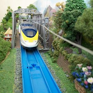 Tomy Plarail - Eurostar.