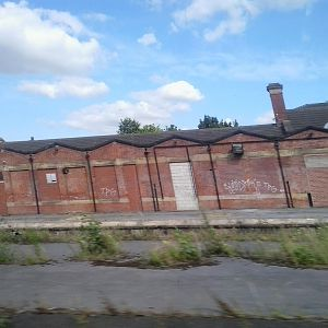 Rotherham station.