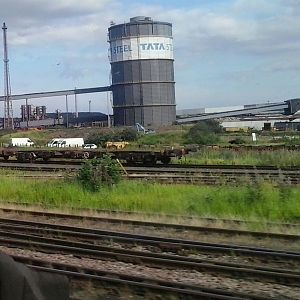 Tata steel in Scunthorpe.