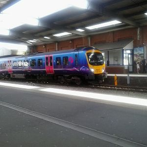 Transpennine 185 to Manchester via South Humberside mainline.