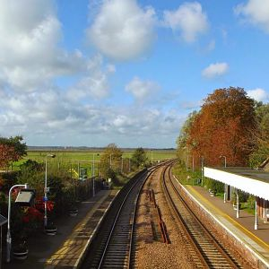 Reedham Station (Overlook from footbridge)