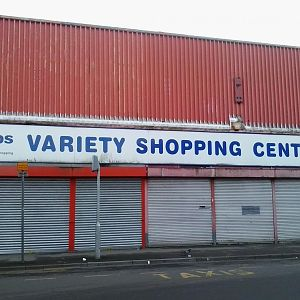 Variety Shopping Centre, formerly the John Molson Shopping Centre. It's sadly closed.