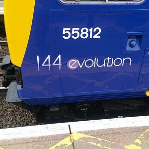 Northern Rail 144012 (Evolution Pacer)