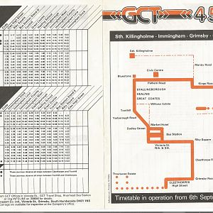Grimsby Timetable 450003