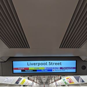 Northern Line Liverpool Street