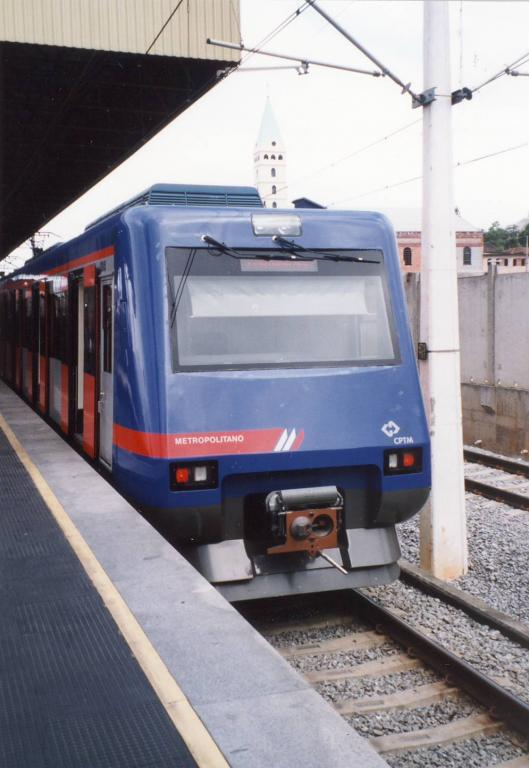 the serie 2000, a metro train with quality